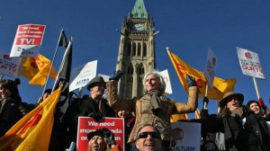 ACTRA rally