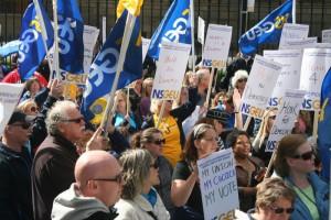NSNU Protest